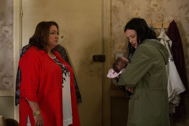 Bev and Hayley on EastEnders