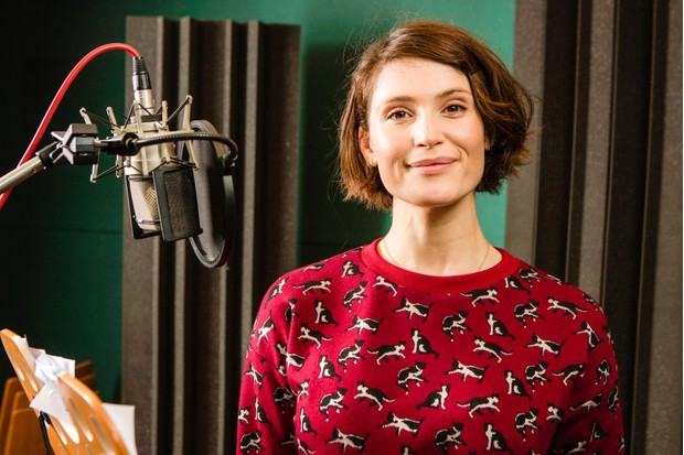 Programme Name: Watership Down - TX: n/a - Episode: Watership Down - BTS (No. BTS) - Picture Shows: Gemma Arterton behind the scenes, during recording. Gemma Arterton - (C) BBC - Photographer: Steve Brown