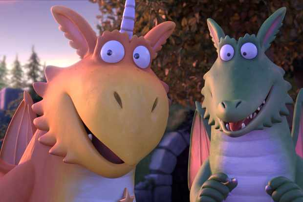 What Time Is Bbc1 S Dragon Animation Zog On Tv Lenny