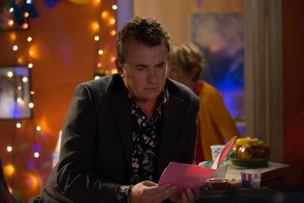 Alfie (Shane Richie) gets shock news on EastEnders