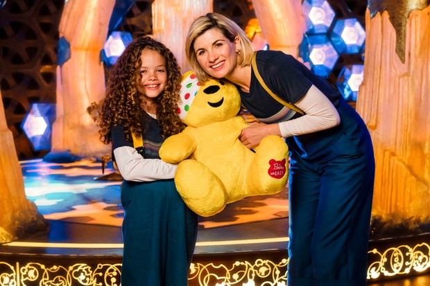 WARNING: Embargoed for publication until 00:00:01 on 16/11/2018 - Programme Name: BBC Children In Need 2018 - TX: n/a - Episode: BBC Children In Need 2018 (No. n/a) - Picture Shows: ++ to be placed ++Children in Need go behind the scenes with Doctor Who Anna, Jodie Whittaker - (C) BBC - Photographer: Sophie Mutevelian