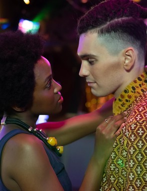 Masli Baduza and Jack Rowan in Noughts & Crosses (BBC)