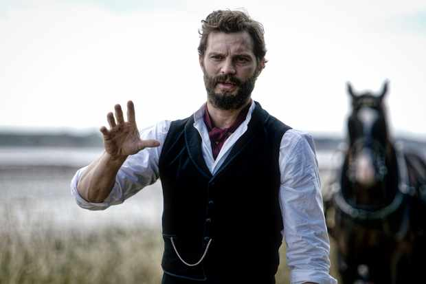 Jamie Dornan plays Liam Ward in Death and Nightingales