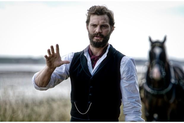 Jamie Dornan plays Liam Ward in Death and Nightingales