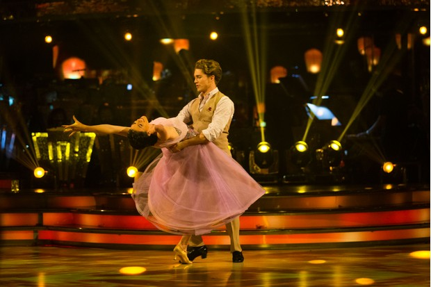 Lauren and AJ (Strictly, BBC)