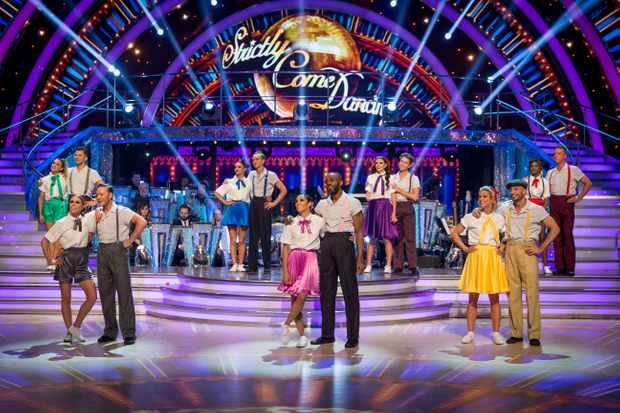 Programme Name: Strictly Come Dancing 2018 - TX: 24/11/2018 - Episode: n/a (No. n/a) - Picture Shows: ***LIVE SHOW*** Strictly 2018 Celebrities and Pro Dancers - (C) BBC - Photographer: Guy Levy