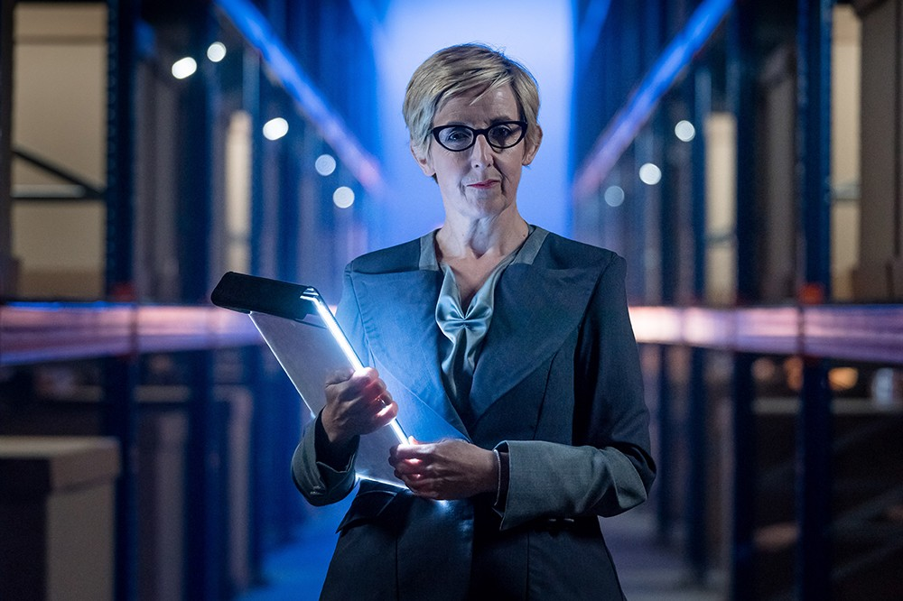 Julie Hesmondhalgh as Judy in Doctor Who (BBC)