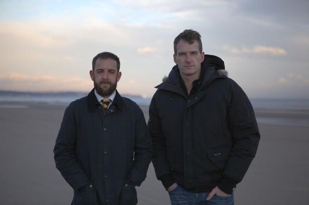 Dan Snow and Sean Jones (BBC)