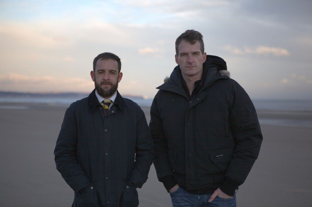 Dan Snow and Sean Jones (BBC)