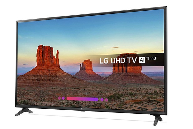 Amazon, LG 55-Inch 4K UHD HDR Smart LED TV