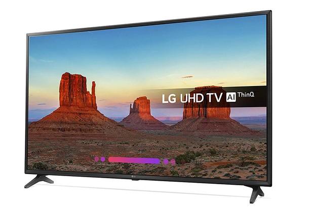 Amazon, LG 55-Inch 4K UHD HDR Smart LED TV