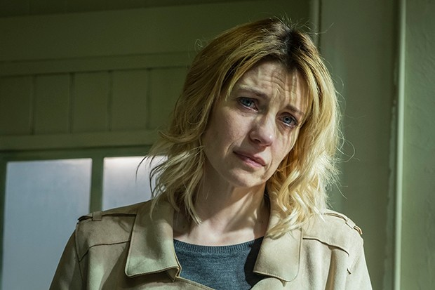 Claire Goose plays Phoebe Kyrkiacou in Dark Heart