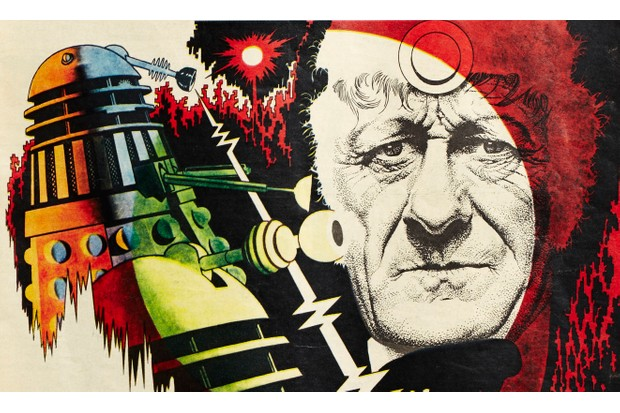Day of the Daleks cover