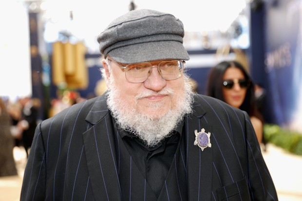 LOS ANGELES, CA - SEPTEMBER 17:  Writer George R. R. Martin attends the 70th Annual Primetime Emmy Awards at Microsoft Theater on September 17, 2018 in Los Angeles, California.  (Photo by Rich Polk/Getty Images for IMDb)