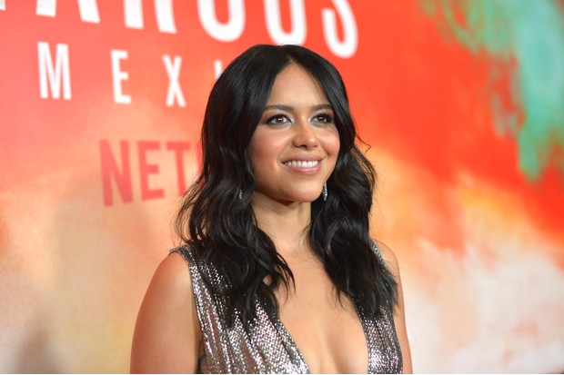 "LOS ANGELES, CALIFORNIA - NOVEMBER 14: Alyssa Diaz attends the Netflix Original Series ""Narcos: Mexico"", special screening at LA Live in Los Angeles, CA on November 14, 2018 in Los Angeles, California. (Photo by Charley Gallay/Getty Images for Netflix)"