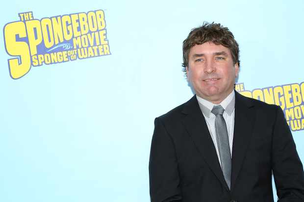 "NEW YORK, NY - JANUARY 31:  Executive producer Stephen Hillenburg attends ""The Spongebob Movie: Sponge Out Of Water"" World Premiere at AMC Lincoln Square Theater on January 31, 2015 in New York City.  (Photo by Monica Schipper/FilmMagic)"