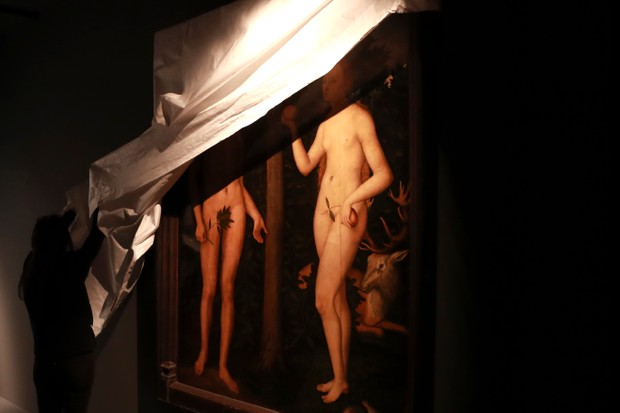 Adam and Eve by Lucas Cranach the Elder (Getty, EH)