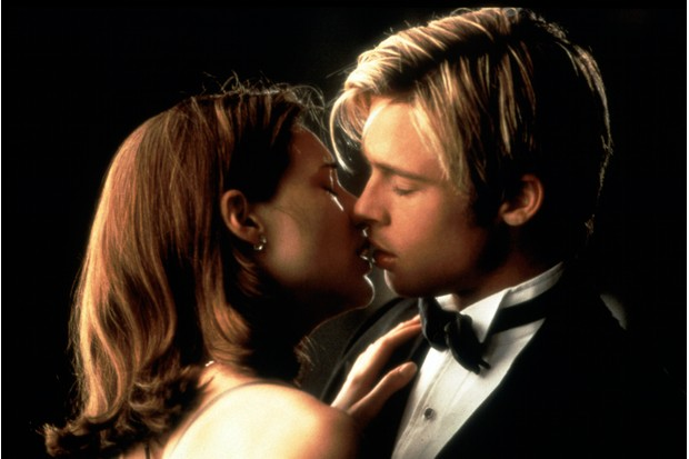 Claire Forlani and Brad Pitt in Meet Joe Black (Getty, EH)