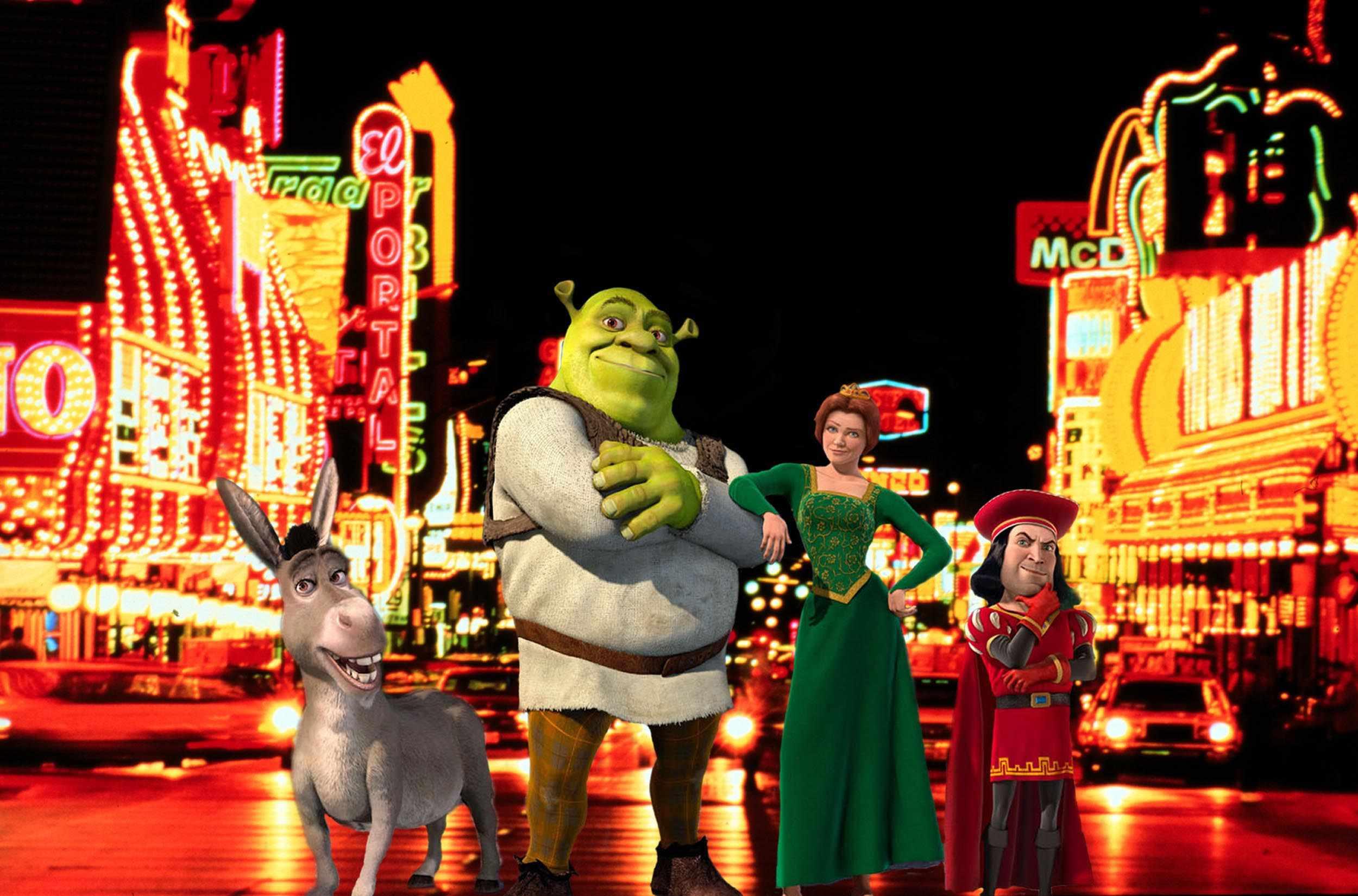Shrek  (Photo by Jeff Kravitz/FilmMagic) *** Local Caption ***