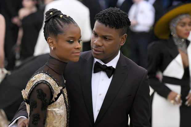 John Boyega, Letitia Wright (Getty, EH)