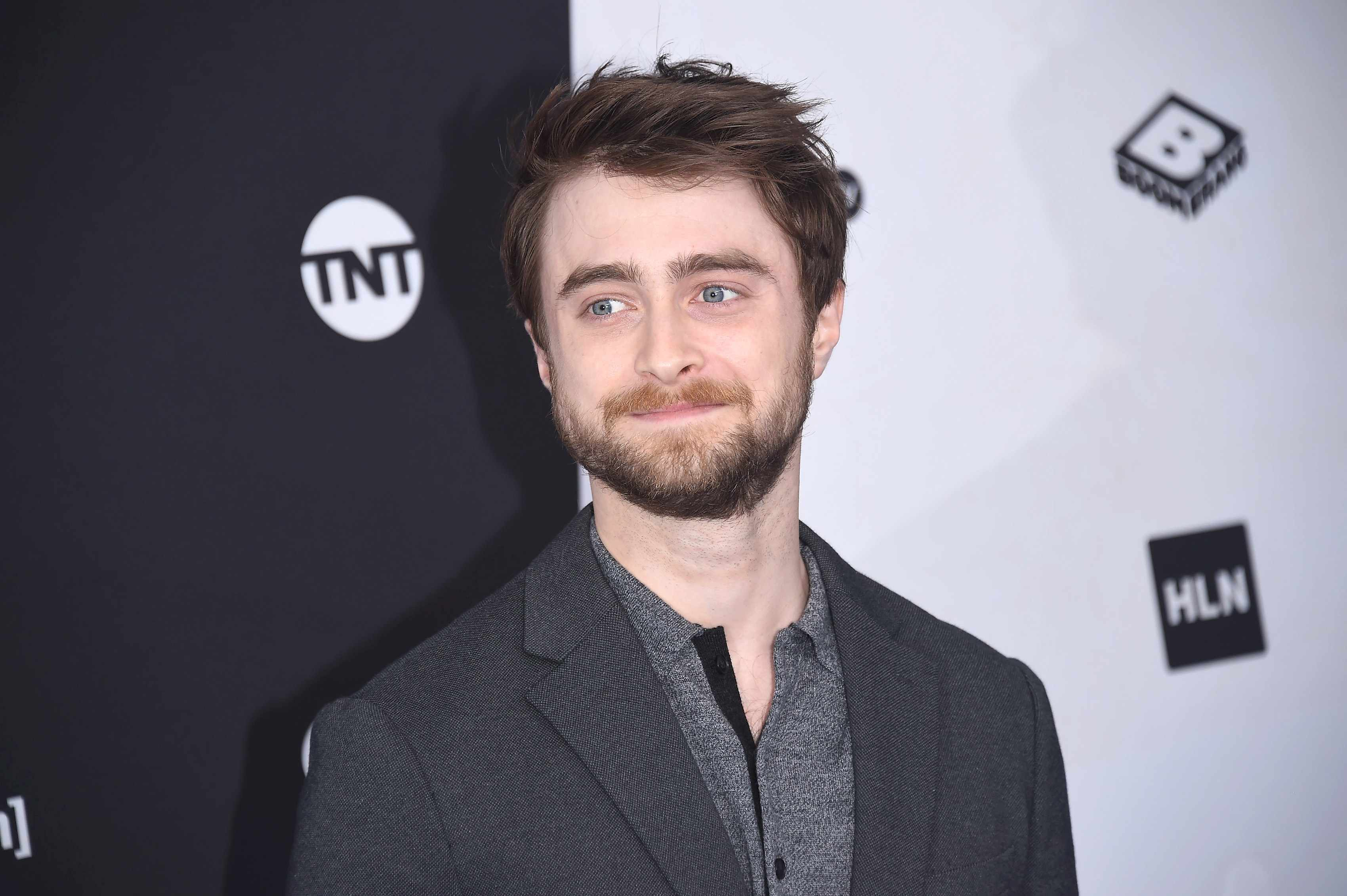 NEW YORK, NY - MAY 16:  Daniel Radcliffe attends the 2018 Turner Upfront at One Penn Plaza on May 16, 2018 in New York City.  (Photo by Gary Gershoff/WireImage)