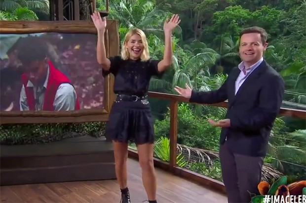 Holly Willoughby and Declan Donnelly on I'm a Celebrity
