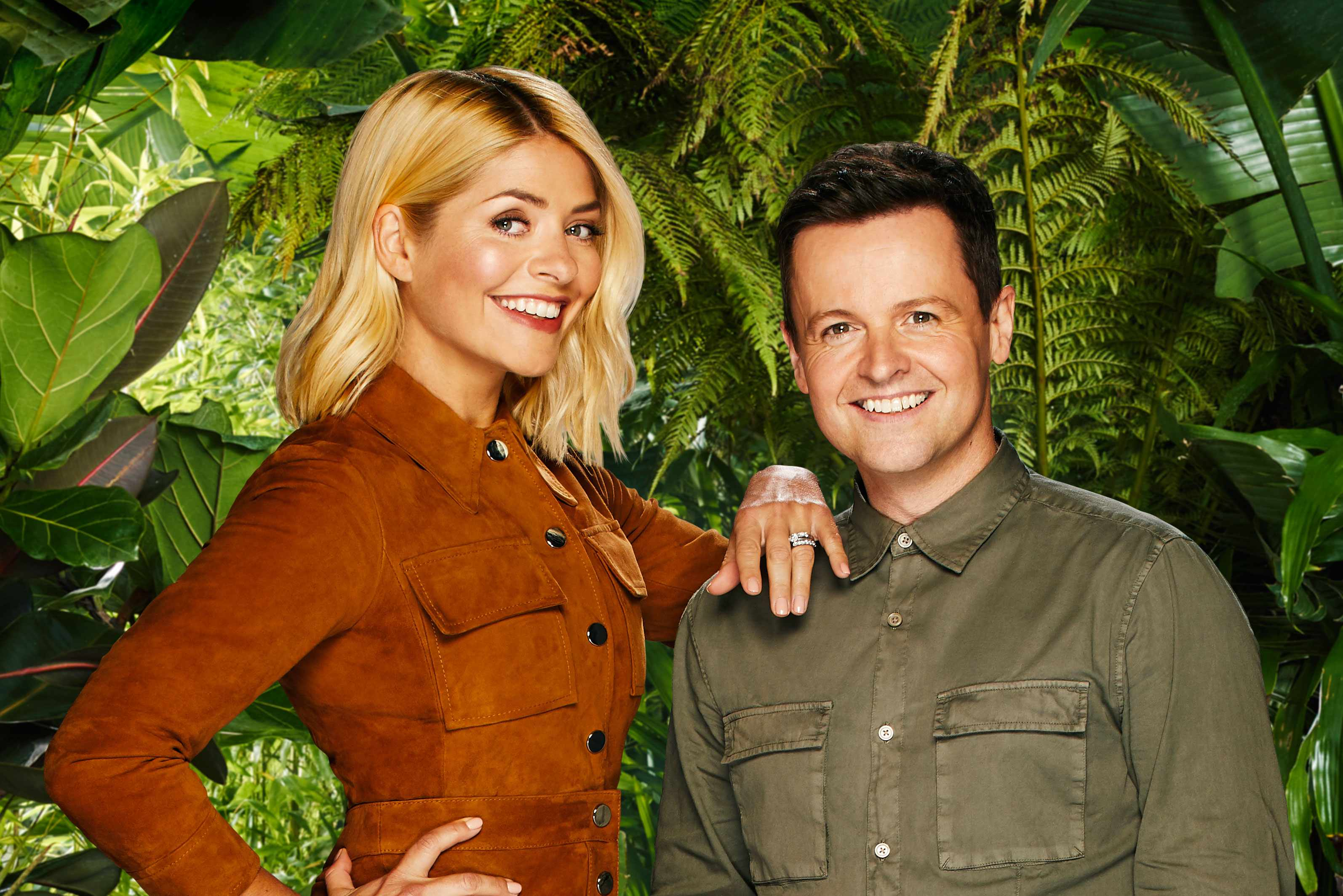 I'm a Celeb hosts Declan Donnelly and Holly Willoughby