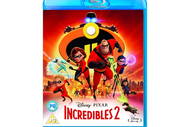 Win a Smart TV, Blu-Ray™ player and a copy of Incredibles 2 on Blu