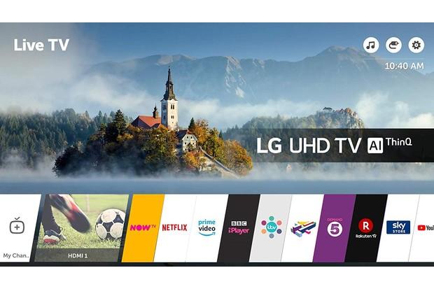 LG 65-Inch UHD 4K HDR Smart LED TV