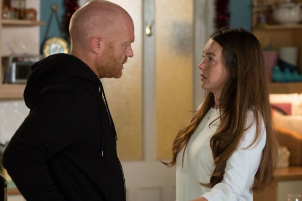 Max (Jake Wood) and Stacey (Lacey Turner) on EastEnders