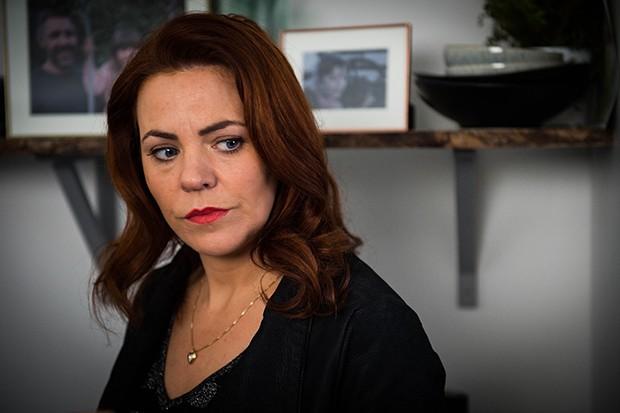 Rachel Tucker plays Sharon Collins in Informer