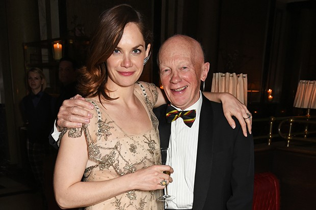 Ruth Wilson with her father Nigel