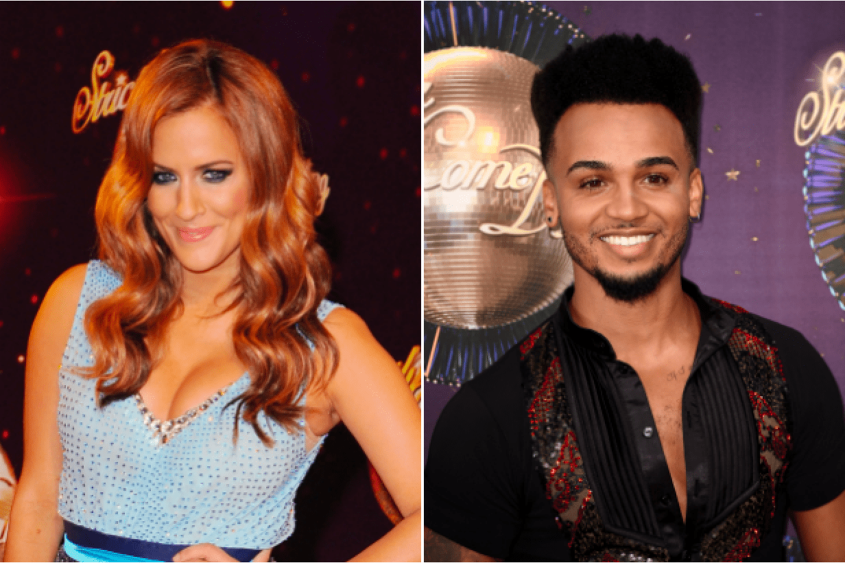 Caroline Flack and Aston Merrygold (Getty, EH)