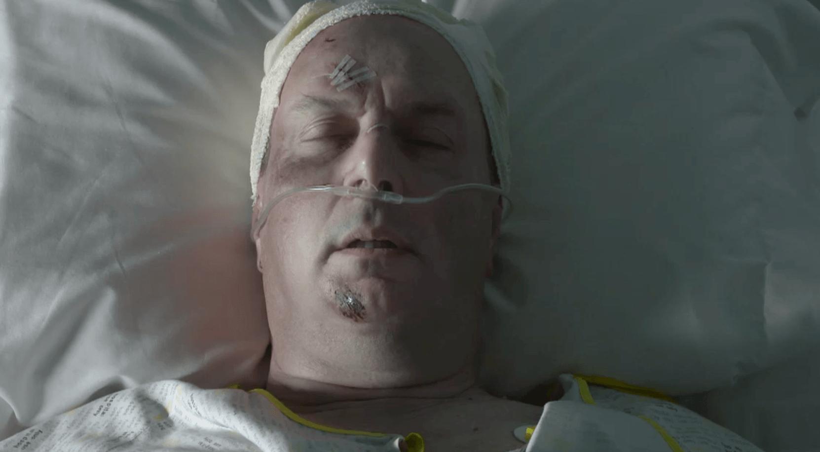 Heston Carter (Owen Brenman) dies on Doctors