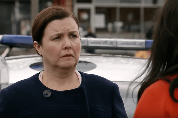 Mary (Patti Clare) on Coronation Street