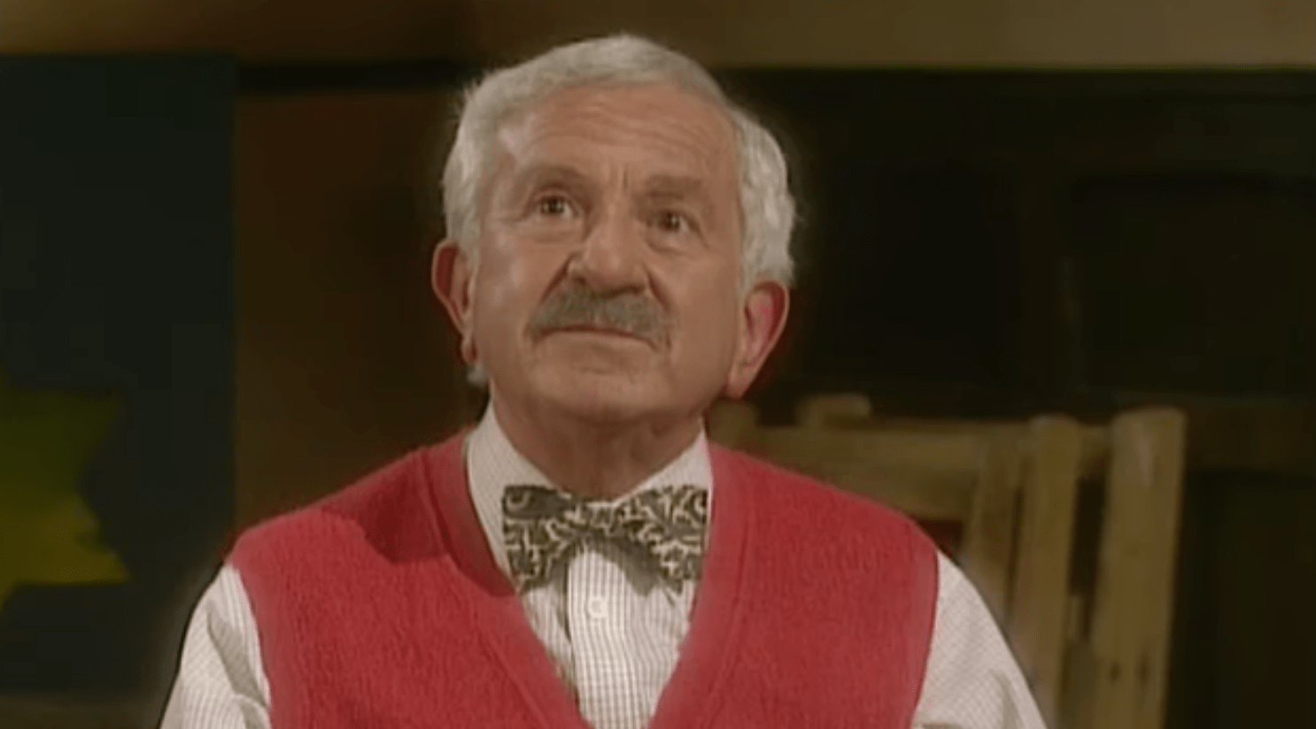 John Bluthal in Vicar of Dibley