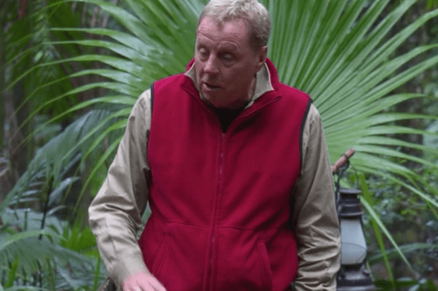 Harry Redknapp, Im a Celeb (ITV Screenshot)