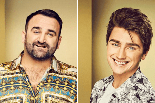 Brendan Murray and Danny Tetley are eliminated from X Factor 2018
