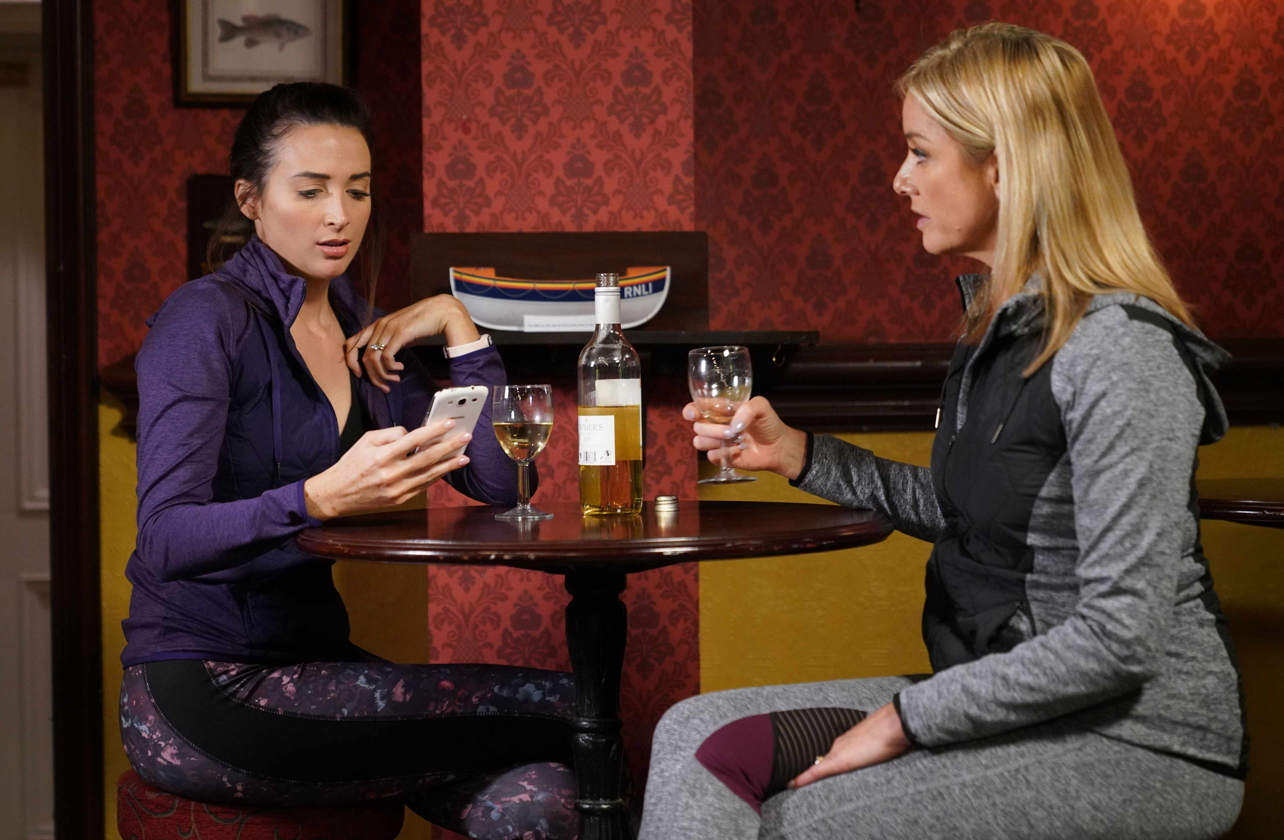 Mel and Maddie on EastEnders
