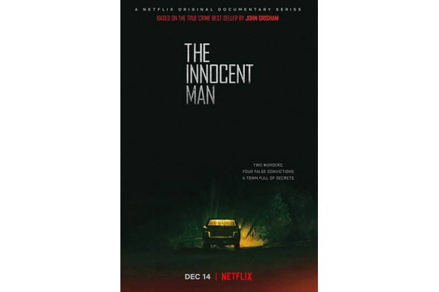 The Innocent Man poster Netflix