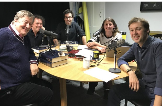 Stephen Fry no such thing as a fish podcast
