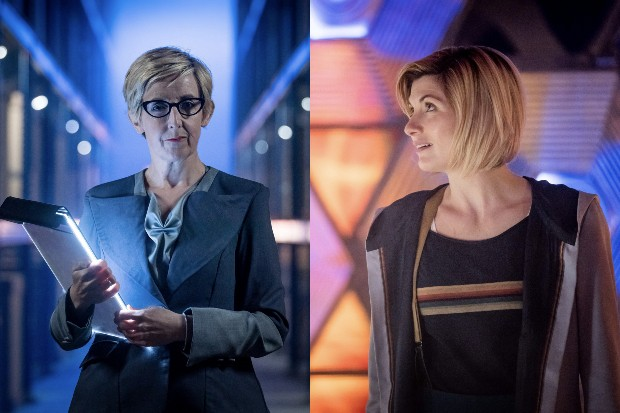 Julie Hesmondhalgh and Jodie Whittaker in Doctor Who (BBC)