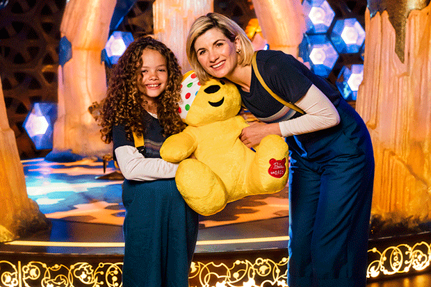 Doctor Who's Children in Need sketch, BBC