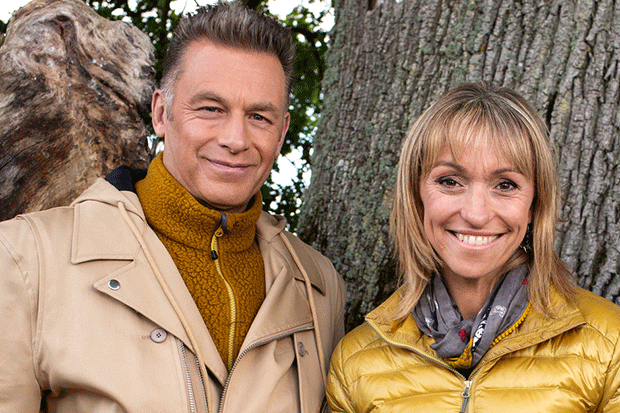 Chris Packham and Michaela Strachan, BBC Pictures