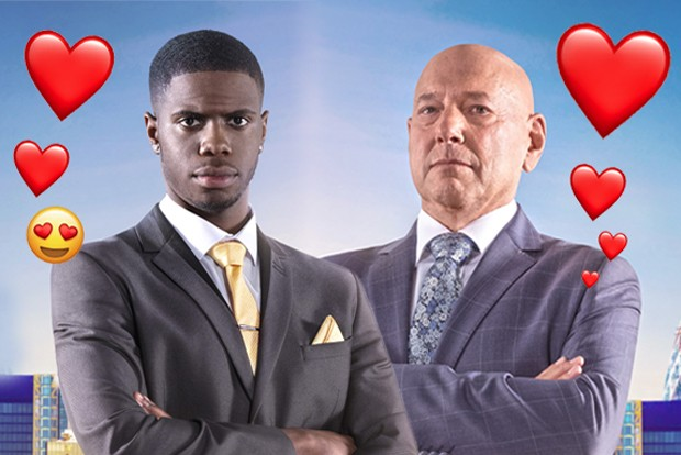 Claude and Kayode BBC apprentice