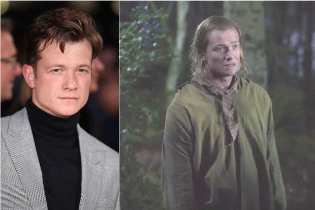 Ed Speleers in Outlander, Getty/Starz YouTube