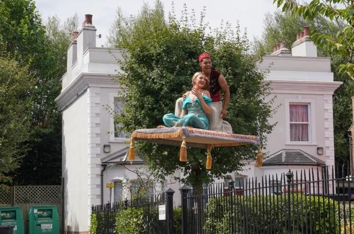 EastEnders stars perform Disney medley for Children in Need