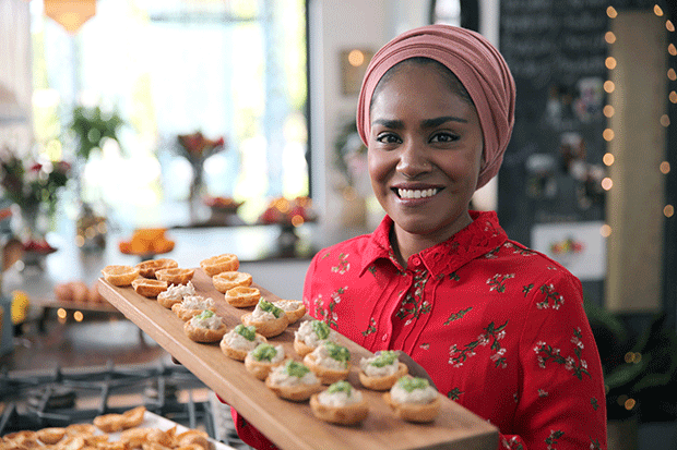 Nadiya's Party Feasts, BBC Pictures