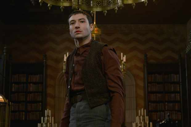 Ezra Miller is Aurelius Dumbledore in Fantastic Beasts 2