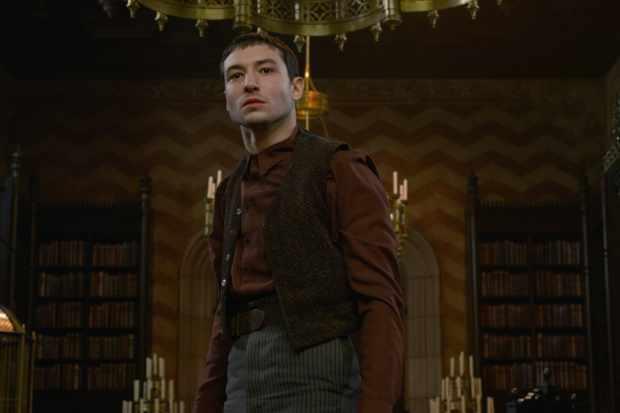 Ezra Miller is Aurelius Dumbledore in Fantastic Beasts 2